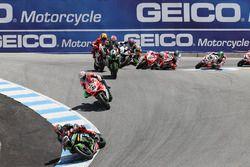Tom Sykes, Kawasaki Racing, Marco Melandri, Ducati Team, Jonathan Rea, Kawasaki Racing