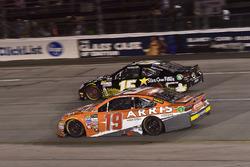 Даниэль Суарес, Joe Gibbs Racing Toyota и Деррик Коуп, Premium Motorsports Toyota