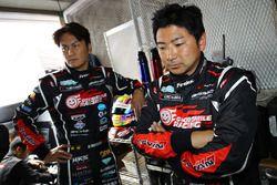 Tatsuya Kataoka and team mate Nobuteru Taniguchi, Goodsmile Racing & Team Ukyo