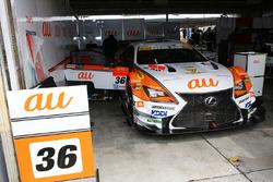 #36 Team Tom's Lexus RC F: Daisuke Ito, Nick Cassidy