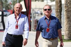 Ron Dennis, McLaren CEO met Jonathan Palmer