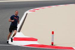 Daniel Schloesser, Mercedes AMG F1 Physio