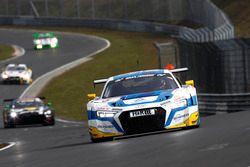 #5 Phoenix Racing, Audi R8 LMS: Frank Stippler, Anders Fjordbach