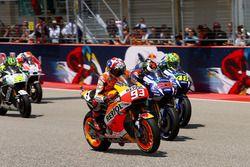Start actie; Marc Marquez, Repsol Honda Team