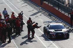 Sieger: #33 Belgian Audi Club Team WRT Audi R8 LMS ultra: Enzo Ide, Christopher Mies