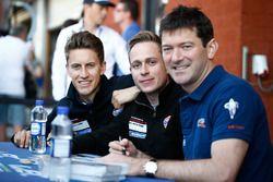 Adam Carroll, Michael Wainwright, Ben Barker, Gulf Racing