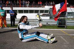 Stefano Comini, Leopard Racing, Volkswagen Golf GTI TCR en la parilla de salida