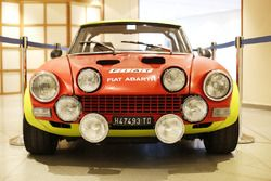 Une Fiat Abarth de collection