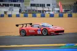 #8 Scuderia Villorba Corse Ferrari 458 Italia GT3: C_©dric Mezard, Steeve Hiesse