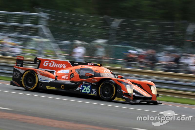 6. #26 G-Drive Racing Oreca 05 Nissan: Roman Rusinov, Will Stevens, René Rast