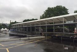 Construcción del circuito Londres ePrix