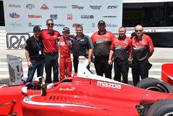Il vincitore della gara Zach Veach, Belardi Auto Racing