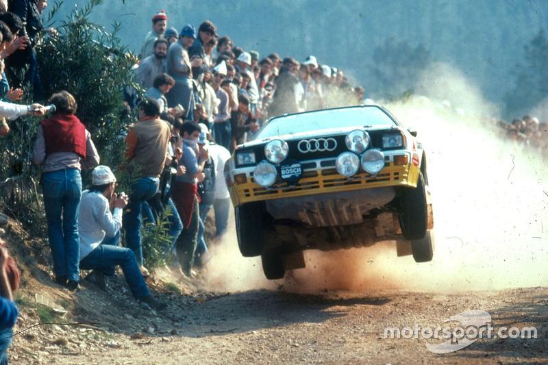 Walter Röhrl, Christian Geistdörfer, Audi