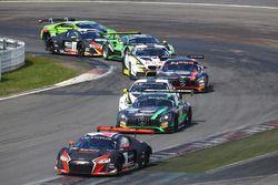 #4 Belgian Audi Club Team WRT Audi R8 LMS Ultra: Dries Vanthoor, Nico Müller