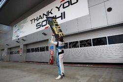 Pole position for Stefano Comini, Leopard Racing, Volkswagen Golf GTI TCR