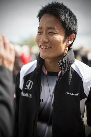 Nobuharu Matsushita, McLaren F1 test pilotu