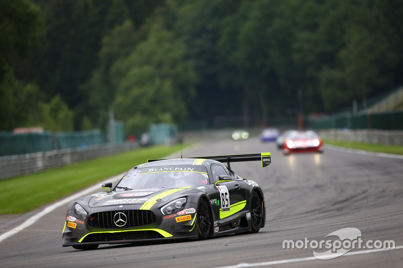 1. #85 HTP Motorsport, Mercedes-AMG GT3: Luciano Bacheta, Indy Dontje, Clemens Schmid