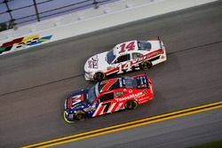 Justin Allgaier, JR Motorsports Chevrolet, Benny Gordon, Toyota