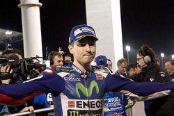 Le poleman Jorge Lorenzo, Movistar Yamaha MotoGP