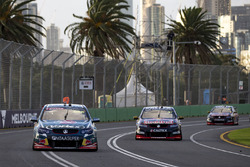 Craig Lowndes, Triple Eight Race Engineering Holden and Shane van Gisbergen, Triple Eight Race Engin