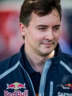 James Key, directeur technique Scuderia Toro Rosso
