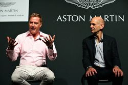 Marek Reichman, Chief Creative Officer and Design Director Aston Martin, Adrian Newey, Chief Technical Officer Red Bull Racing