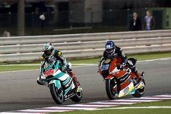 Hafizh Syahrin, Petronas Raceline Malaysia, Kalex en Marcel Schrötter, AGR Team, Kalex