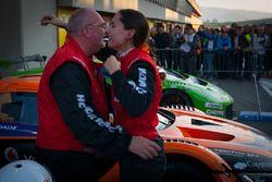 #10 Hofor-Racing, Mercedes SLS AMG GT3: Michael Kroll, Chantal Kroll