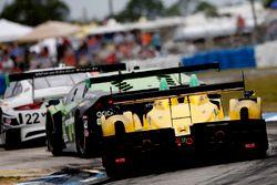 #85 JDC/Miller Motorsports, ORECA FLM09: Chris Miller, Mikhail Goikhberg, Stephen Simpson, Kenton Ko