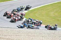 Jack Miller, Marc VDS, Loris Baz, Avintia Racing, Alvaro Bautista, Aprilia Racing Team Gresini chutent