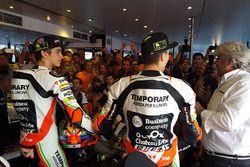 Lorenzo Baldassarri, Luca Marini, Forward Racing con decoración especial de Mugello