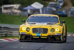 #38 Bentley Team Abt, Bentley Continental GT3: Christian Menzel, Guy Smith, Marco Holzer, Fabian Ham