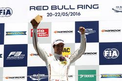 Podium: Sieger Lance Stroll, Prema Powerteam Dallara F312 – Mercedes-Benz