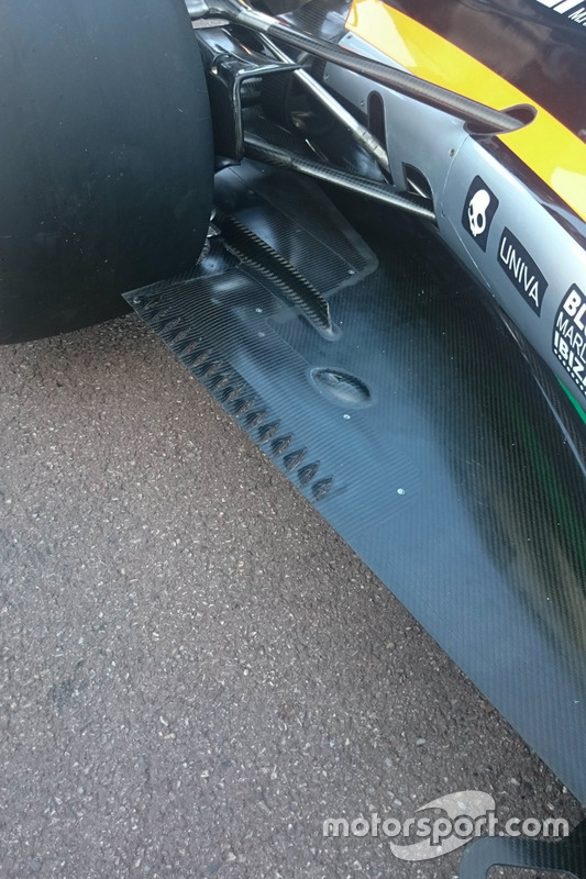 Sahara Force India F1 VJM09 detail