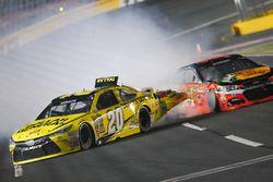 Choque de Matt Kenseth, Joe Gibbs Racing Toyota