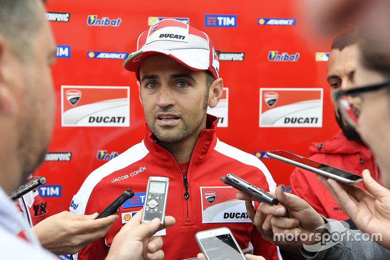 Barberá au soutien de Ducati