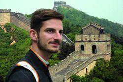 Alex Fontana et la Grande Muraille de Chine