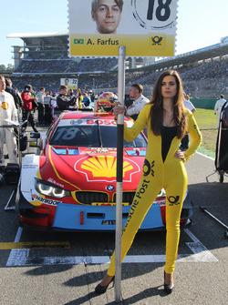 Chica de la parrilla para Augusto Farfus, BMW Team MTEK, BMW M4 DTM