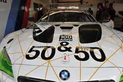 #50 BMW M6 GT3, BMW Team Italia: Alex Zanardi, dettaglio
