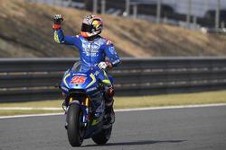 Troisième place pour Maverick Viñales, Team Suzuki Ecstar MotoGP