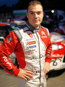 Quentin Gilbert, Citroën DS3 WRC, Abu Dhabi Total World Rally Team