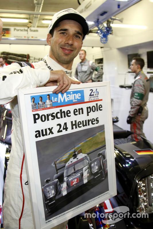 Pole voor Porsche