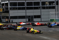 Marvin Kirchhofer, Carlin, Jimmy Eriksson, Arden International, Daniel de Jong, MP Motorsport, Mitch