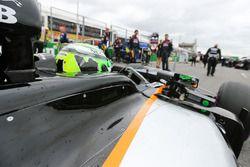 Nico Hülkenberg, Sahara Force India F1 VJM09 sur la grille