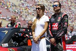 Ashley Van Metre with Kurt Busch, Stewart-Haas Racing Chevrolet