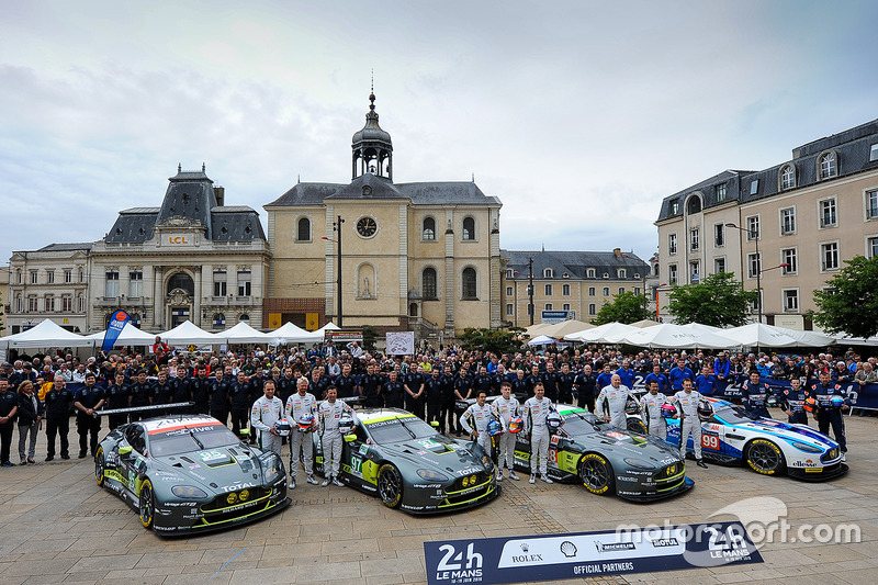 Даррен Тернер, Марко Сёренсен, Ники Тим, #95 Aston Martin Racing Aston Martin V8 Vantage GTE, Ричи С