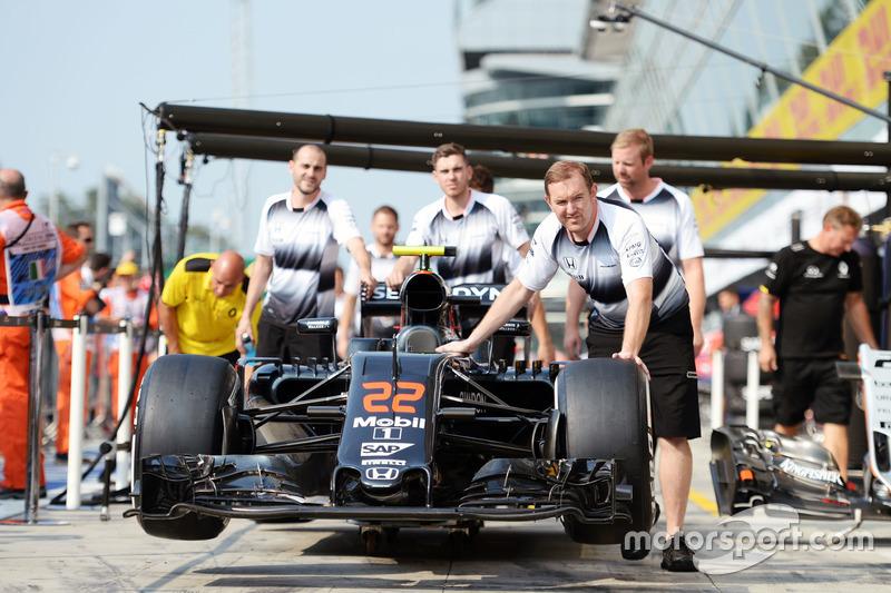 McLaren MP4-31, Jenson Button, McLaren