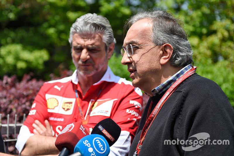 Sergio Marchionne, Ferrari President Başkanı