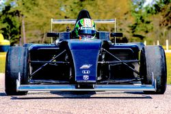 Dane Cameron tests the new F4 Crawford Honda