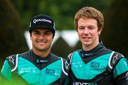 Nelson Piquet Jr., Oliver Turvey, NEXTEV TCR Formula E Team